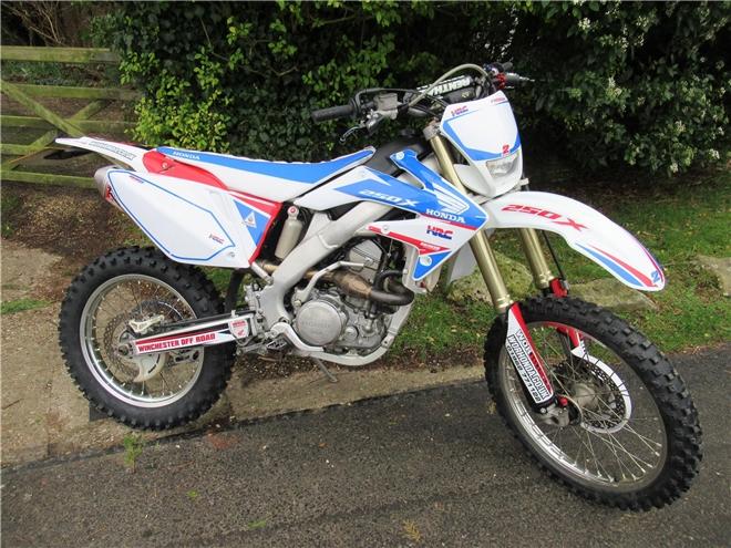 2015 Honda CRF250X-RL (Road Legal) Registered Trail bike - DEPOSIT NOW TAKEN - Image 3