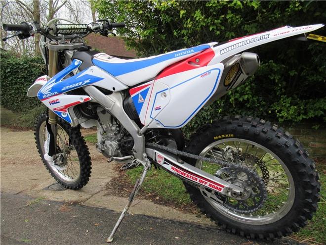 2015 Honda CRF250X-RL (Road Legal) Registered Trail bike - DEPOSIT NOW TAKEN - Image 8