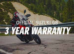 Official Suzuki GB 3 Year Warranty