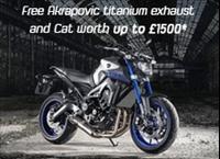 MT-09 - Free Akrapovic Exhaust