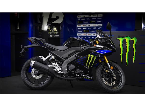 YZF-R125 Monster Energy Yamaha MotoGP Edition - Image 3