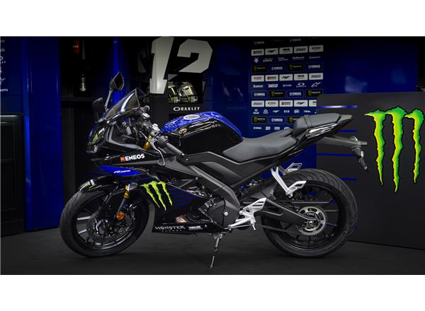 YZF-R125 Monster Energy Yamaha MotoGP Edition - Image 4