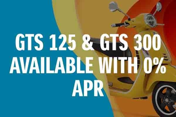 0% on GTS125 and GTS300