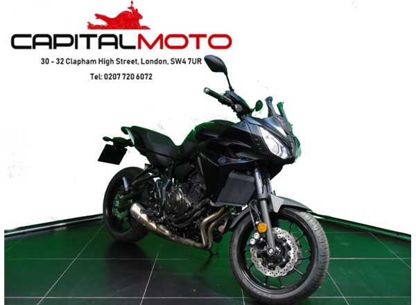 2019 Yamaha MT07 TRACER TECH BLACK