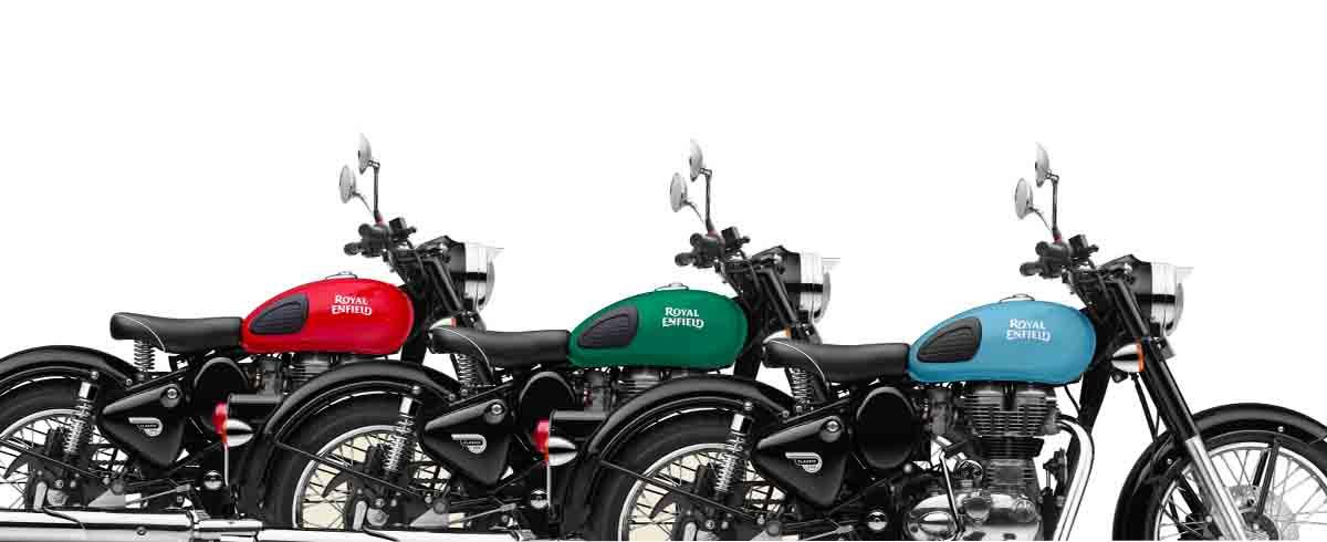 Royal Enfield Hero Banner