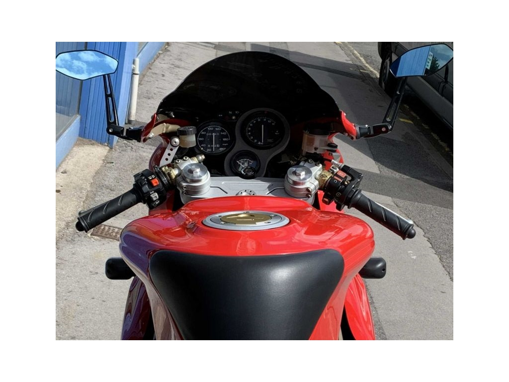 2000 Ducati 750SS SUPERSPORT Red - Image 3