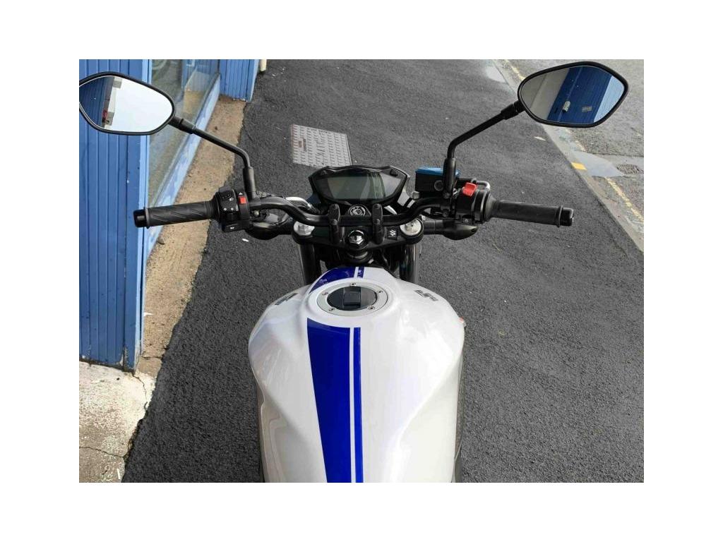 2016 Suzuki SV650 WHITE - Image 3