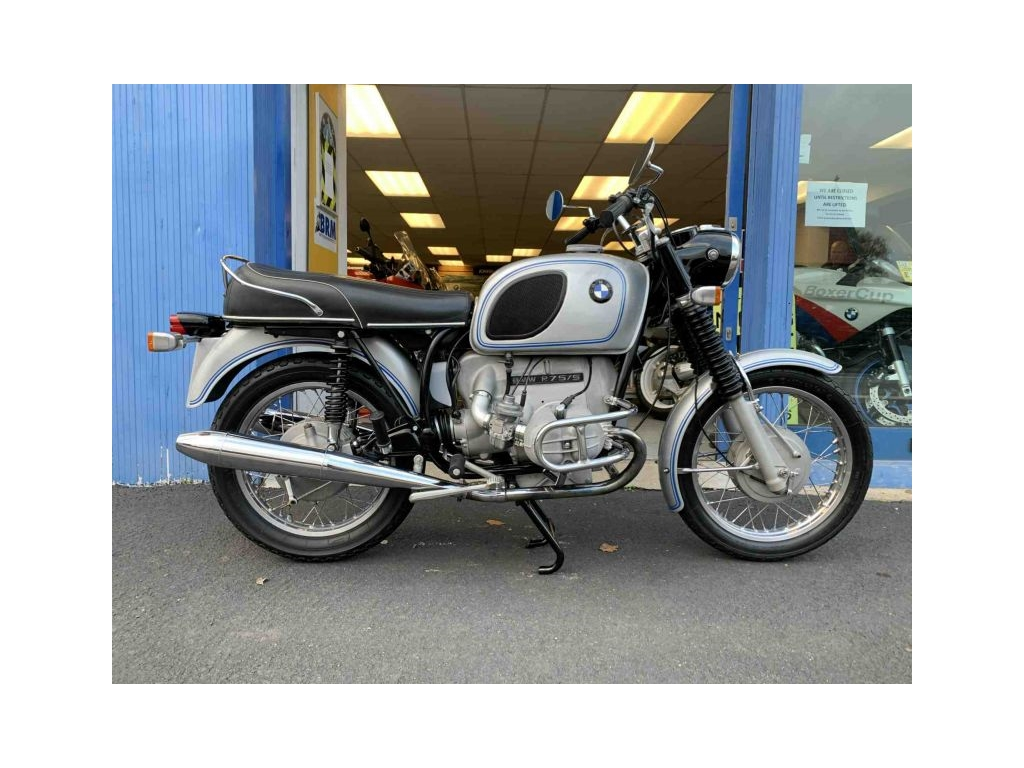 1971 BMW R75/5 CLASSIC SILVER - Image 0