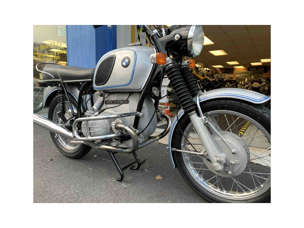 1971 BMW R75/5 CLASSIC SILVER - Image 1