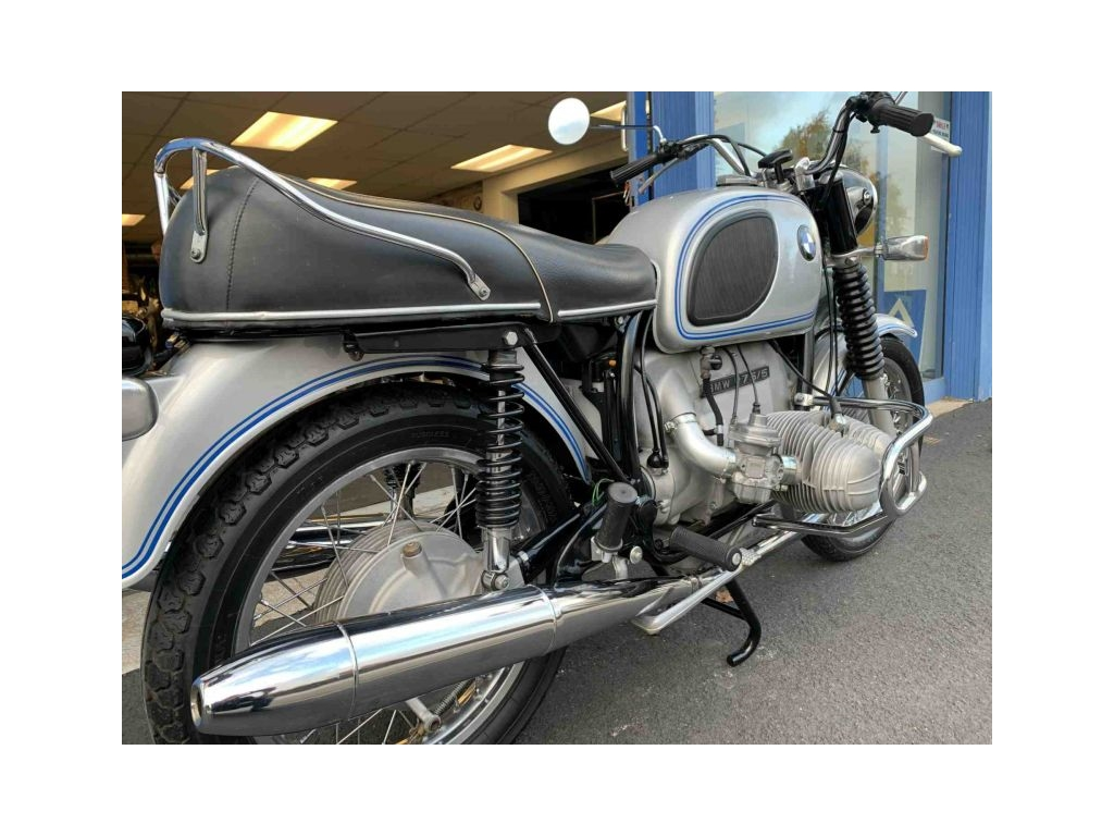 1971 BMW R75/5 CLASSIC SILVER - Image 2