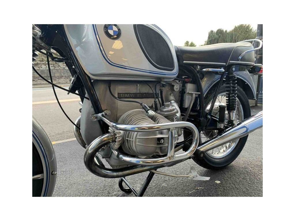 1971 BMW R75/5 CLASSIC SILVER - Image 5