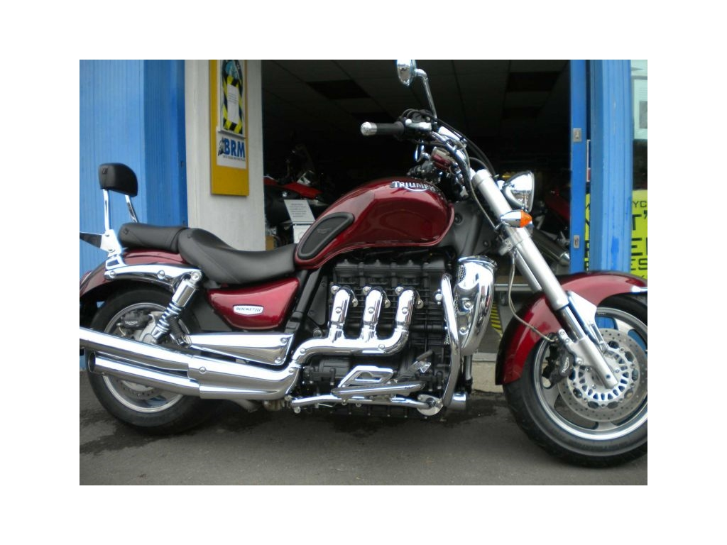 2006 Triumph ROCKET 3 TRIBAL RED - Image 0