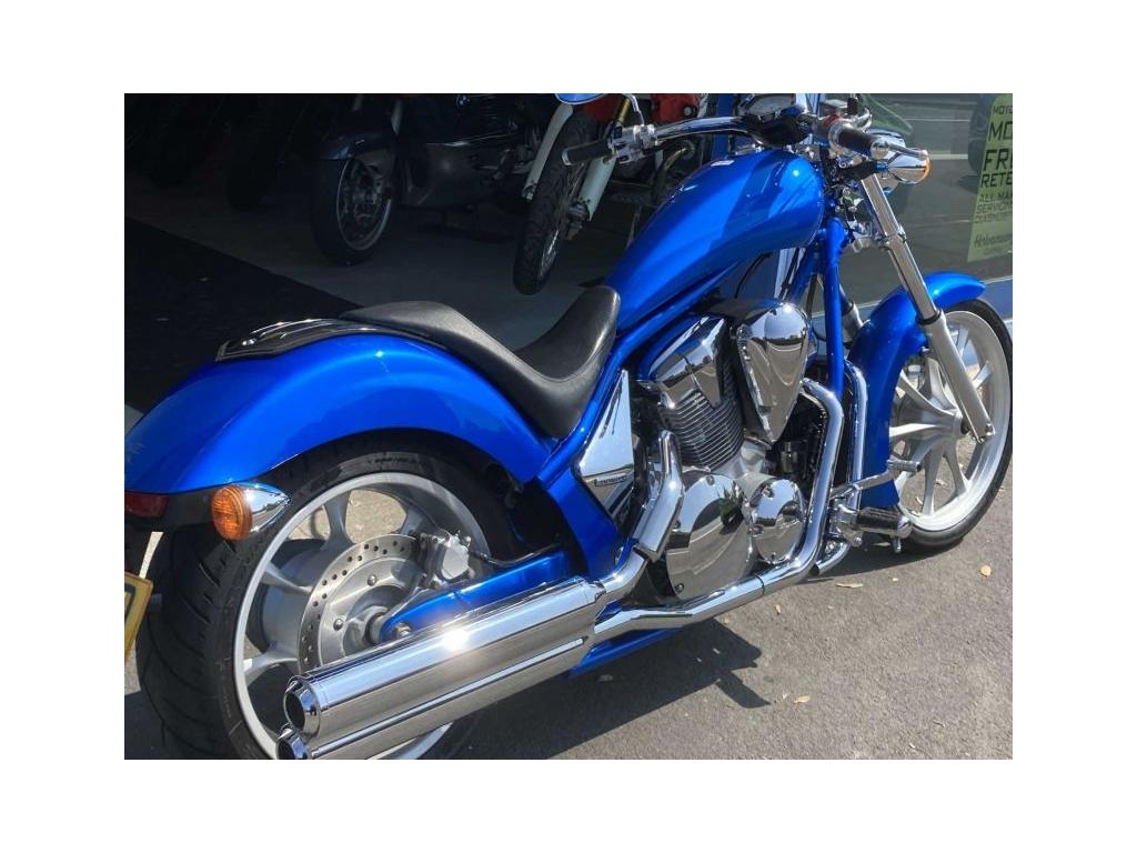 2010 Honda VT1300 CX BLUE - Image 1
