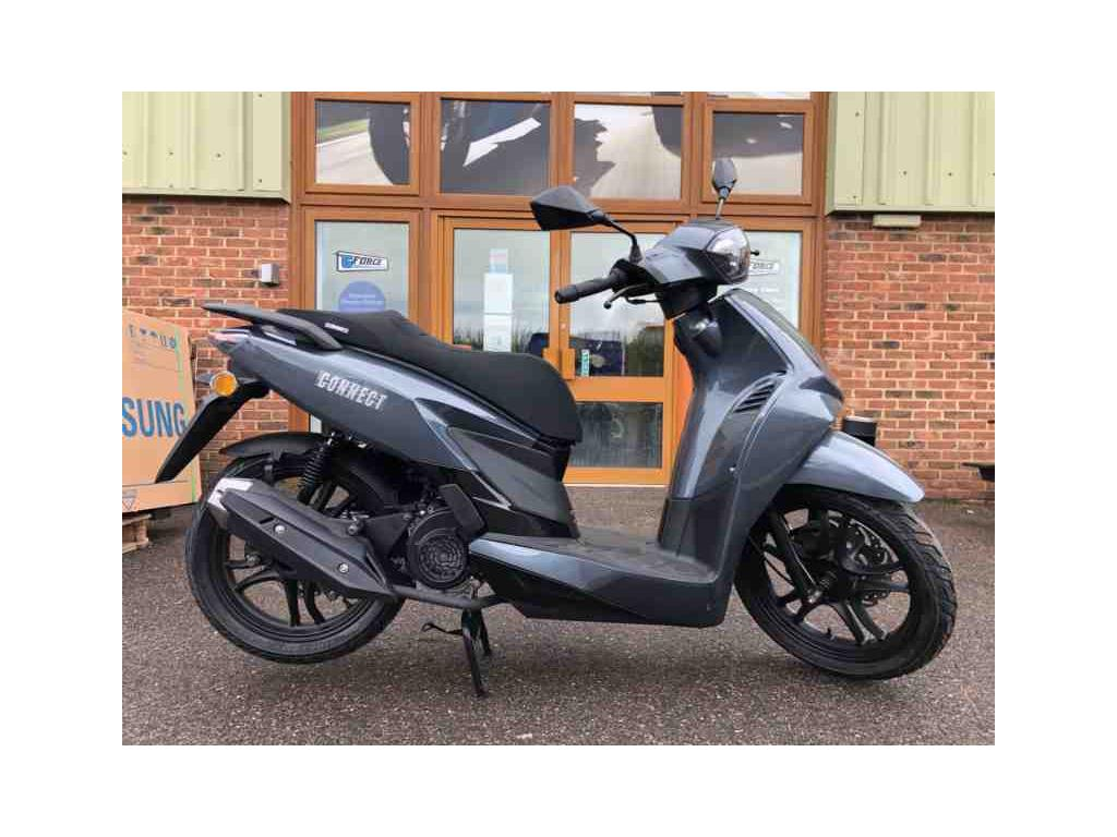 New Sinnis Connect 125 Grey