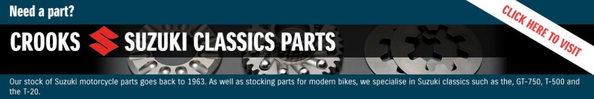 Crooks Suzuki - New and Used Suzuki Motorcycles and Parts