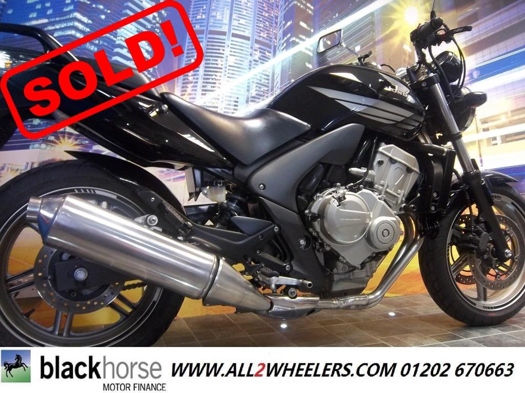 Honda CBF 600 N8 2009 Naked Sports Motorcycle 600 cc - Image 0