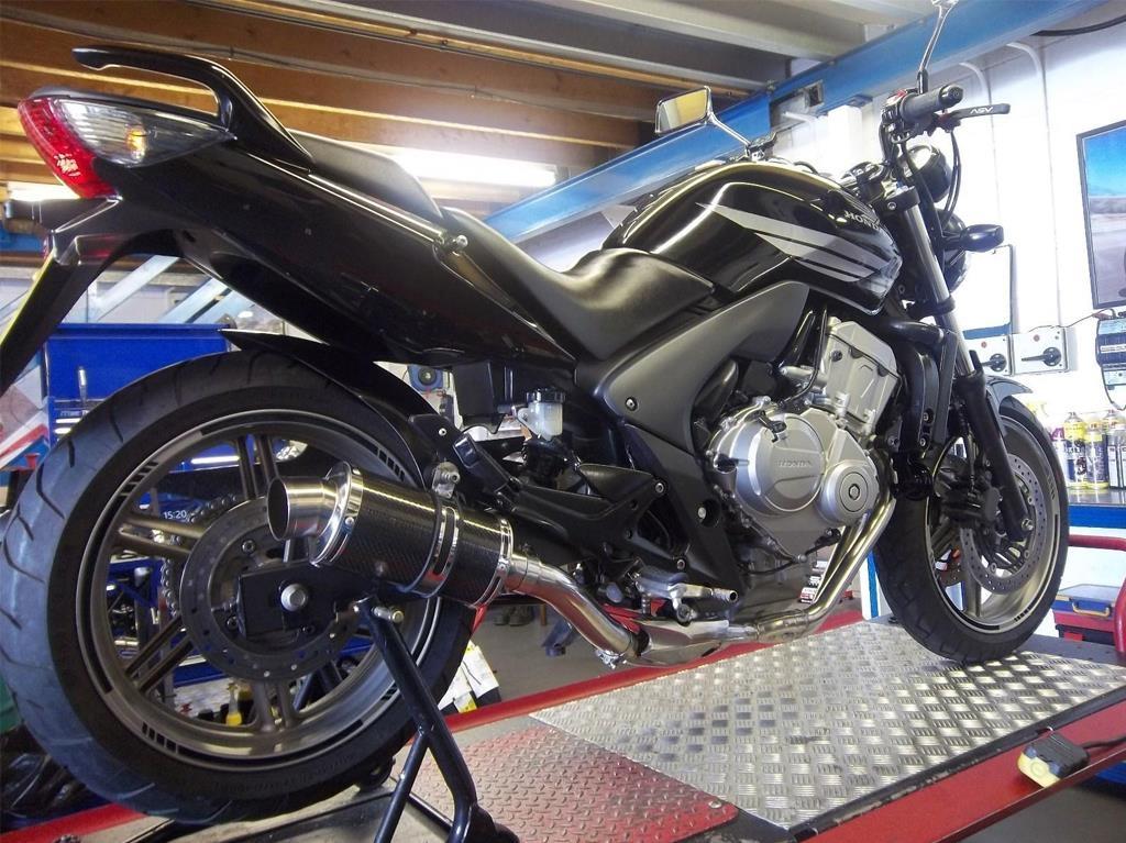 Honda CBF 600 N8 2009 Naked Sports Motorcycle 600 cc - Image 4