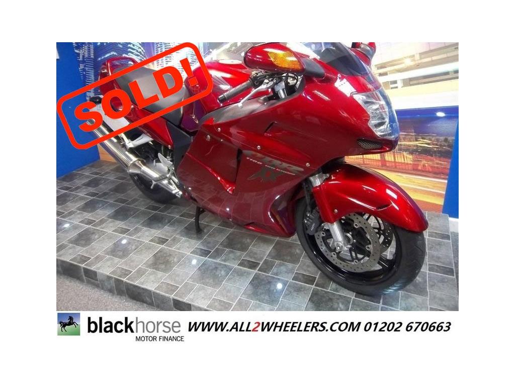 Honda CBR1100 XX-W Super Blackbird Tourer