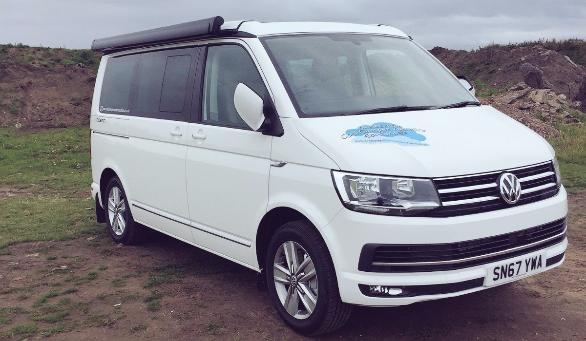 We Have Just Put A Brand New 2018 VW California On To The Cool Camper Van Hire Scotland Fleet