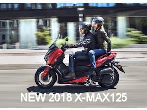 2018 X-MAX125 Press Release