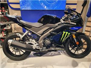 New YAMAHA YZF-R125 MONSTER MOTOR GP COLOUR