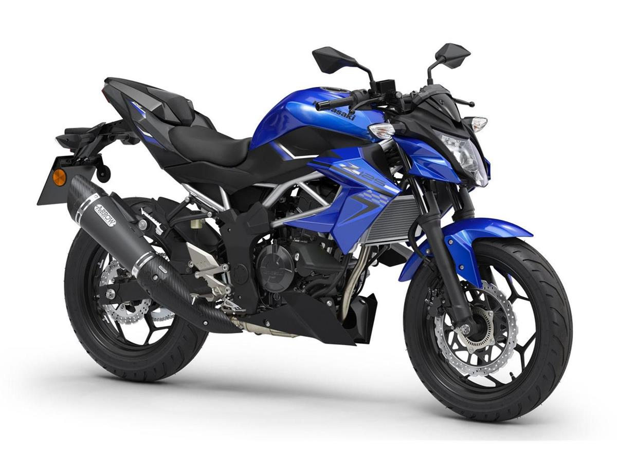 2019 Z125 Performance Blue - Image 0