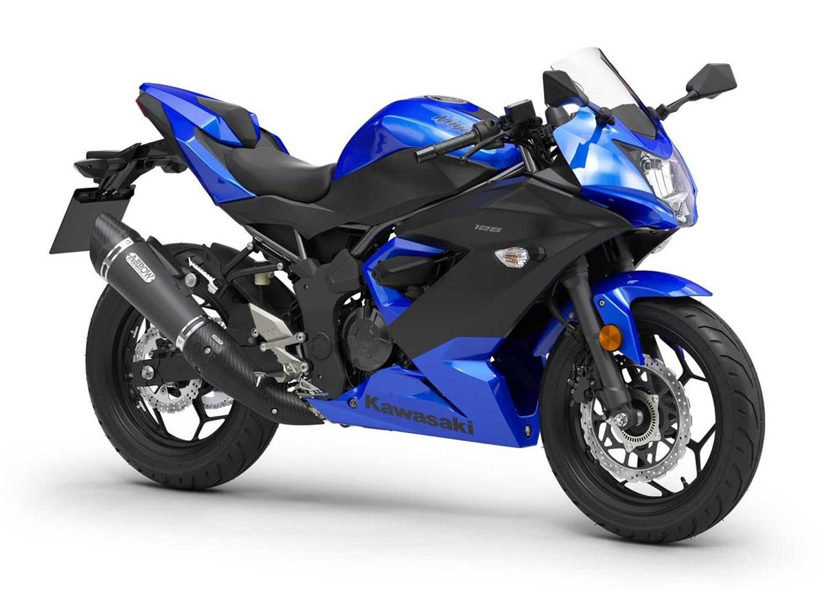 2019 Ninja 125 Blue Performance - Image 0